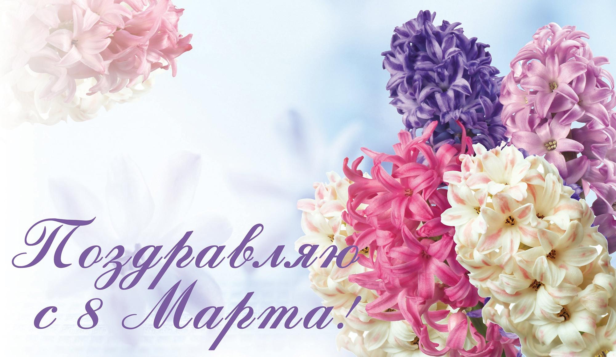 производит поздравления флориста с 8 марта про